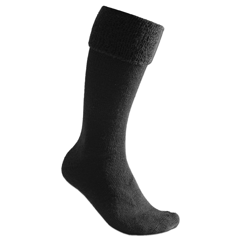 Woolpower Workwear Kniestrumpf 600 schwarz