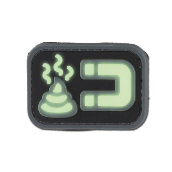 3D-Patch ShitMagnet nachleuchtend