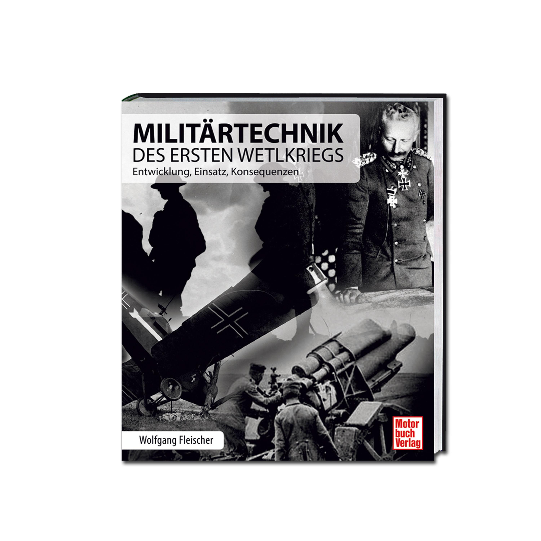 Buch Militärtechnik des Ersten Weltkriegs