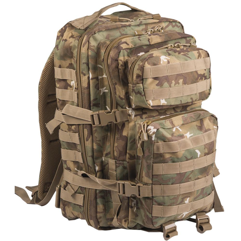 Rucksack US Assault Pack II arid-woodland