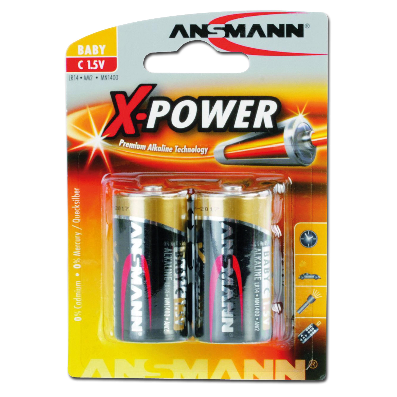 Batterie Ansmann Baby C X-Power 2er-Pack