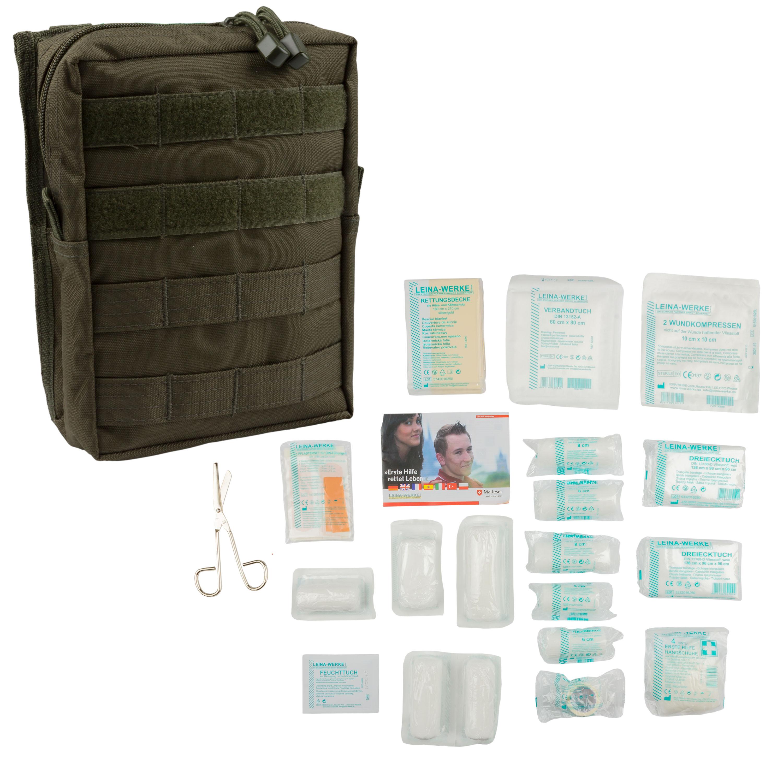 Leina Erste-Hilfe-Set Pro 43-tlg oliv