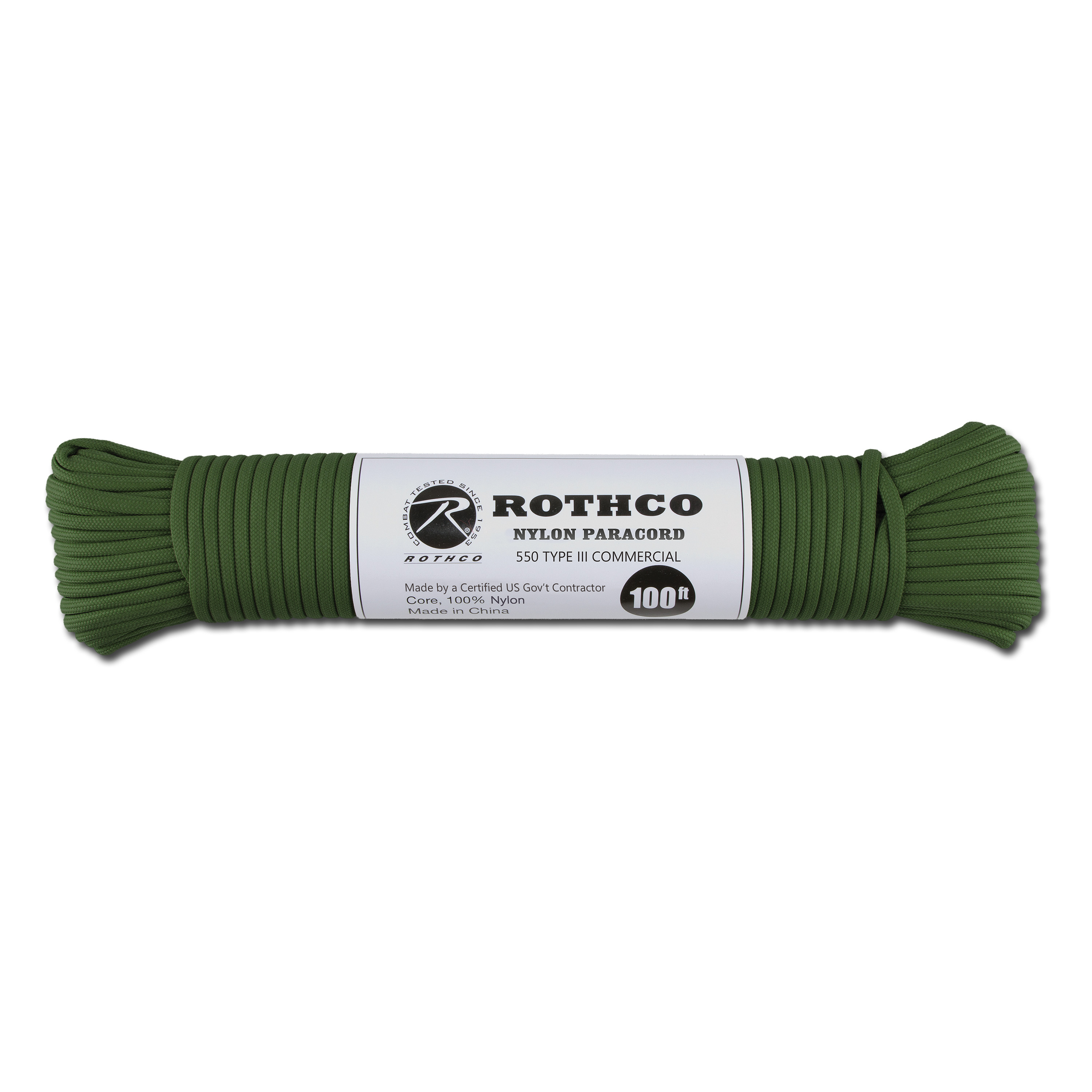 Paracord 550 lb hunter grün 100 ft. Nylon