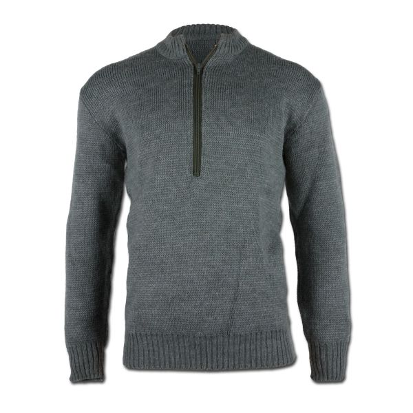 Schweizer Pullover neuwertig grau