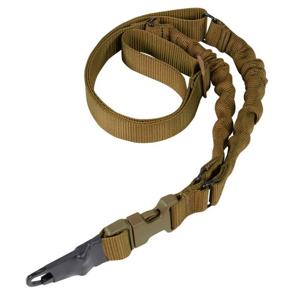 Condor Double Bungee One Point Sling coyote brown