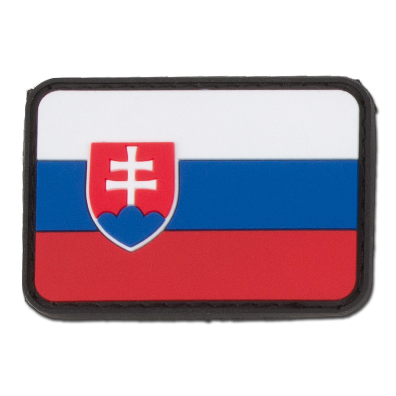 3D Patch Slowakei fullcolor