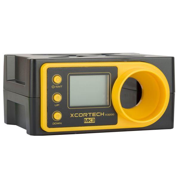 Xcortech Chronograph X3200 Mk3 Shooting Chrony schwarz gelb