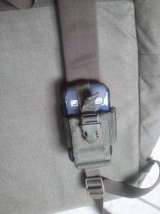 Tasche am Jägerrucksack