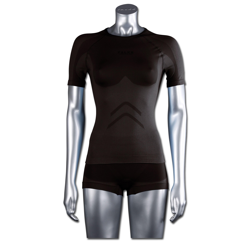 Falke Women Short-Sleeved Shirt Running schwarz