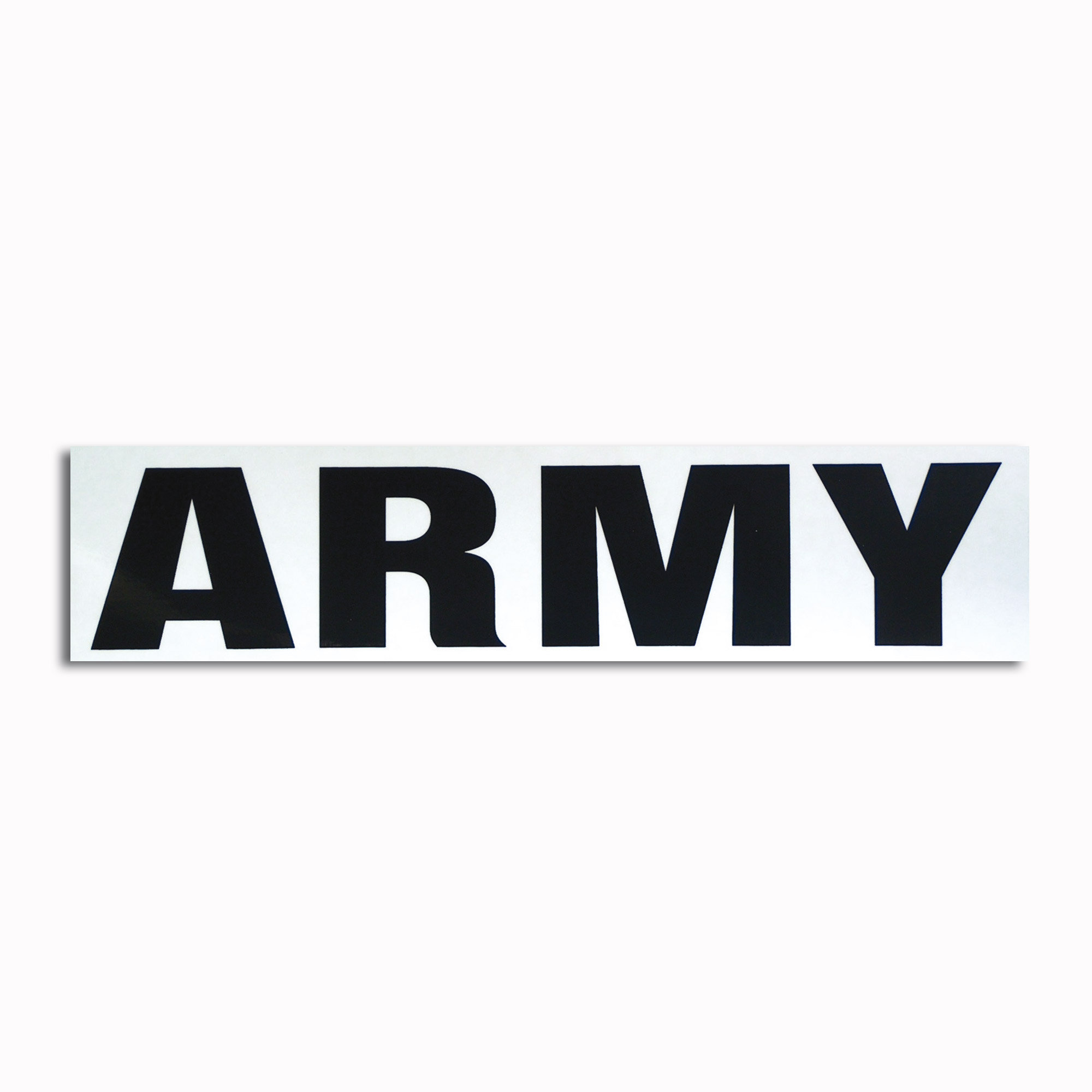 Transparenter Aufkleber Army