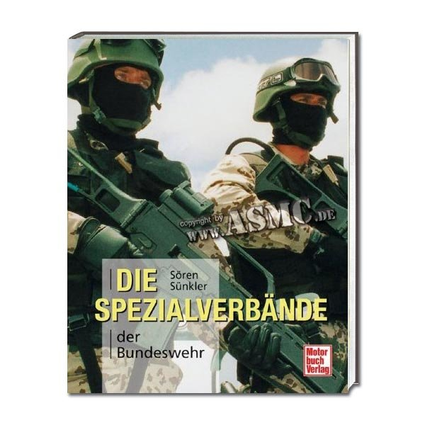 Buch Die Spezialverbände der Bundeswehr