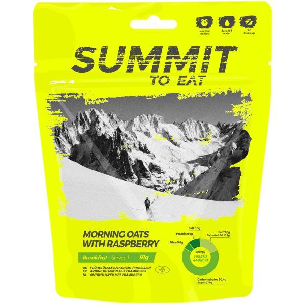Summit to Eat Haferflocken mit Himbeeren
