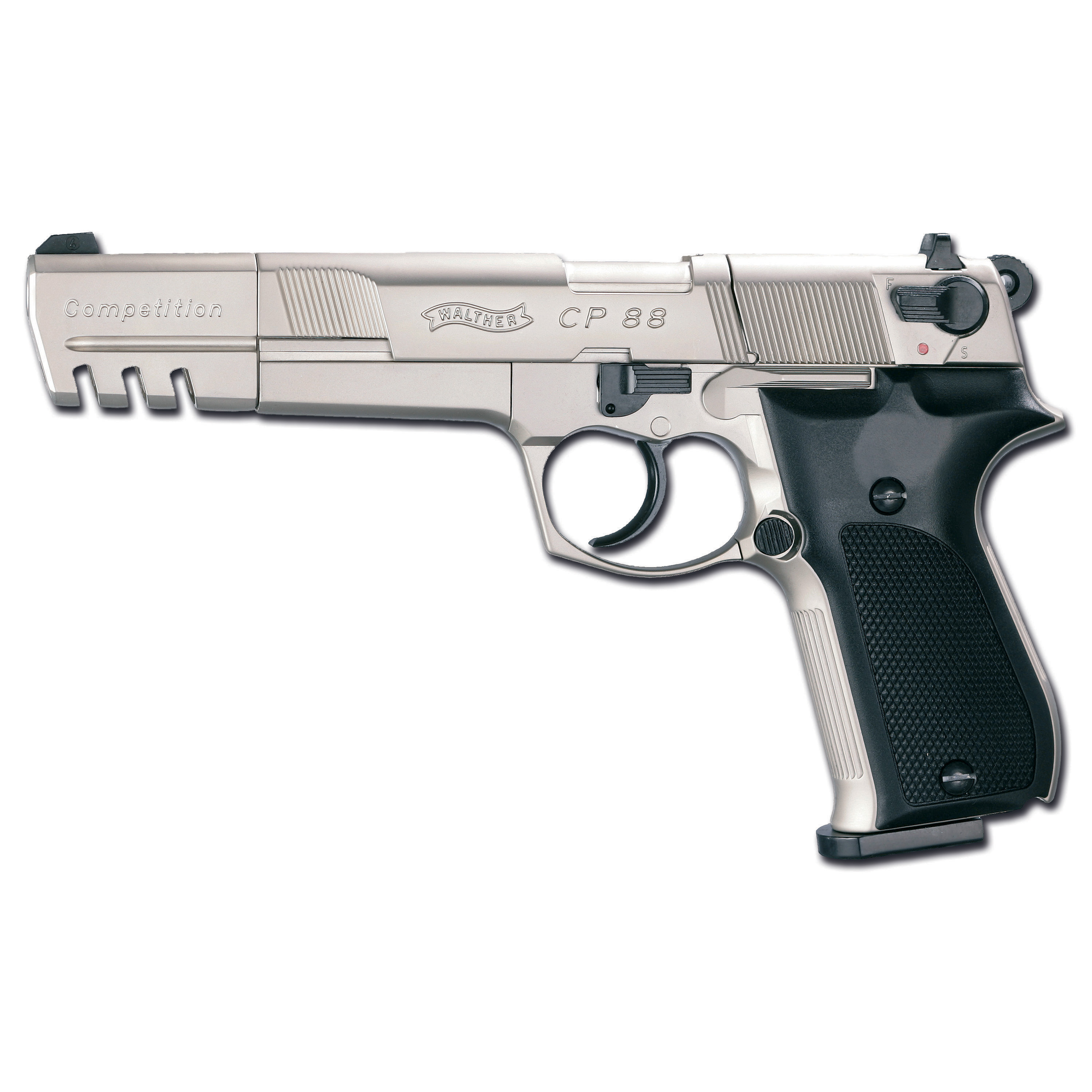 Pistole Walther CP88 Competition nickel