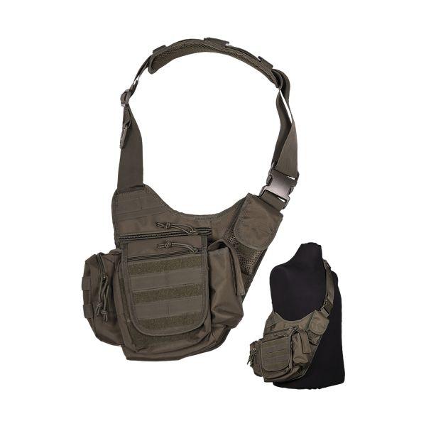 Tasche Sling Bag multifunction oliv