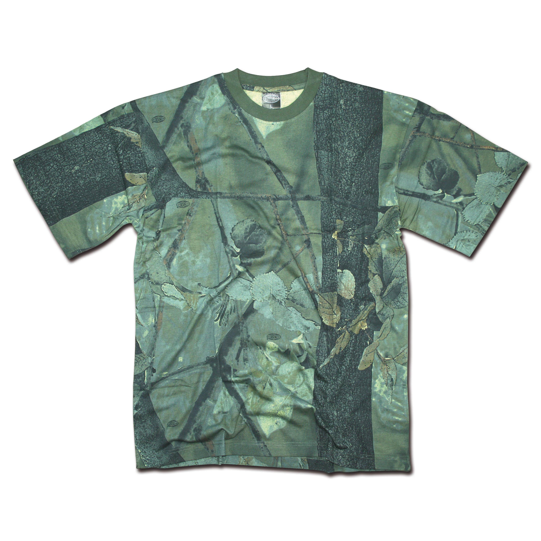 T-Shirt hunter grün