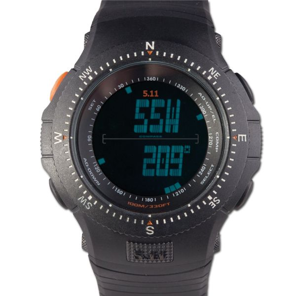 5.11 Field Ops Watch schwarz