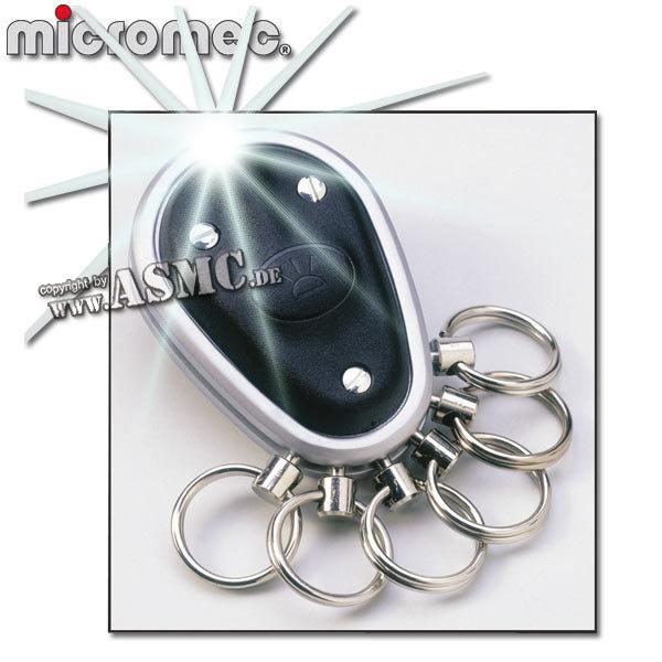 Schlüsselanhänger Micromec Key-Organizer schwarz