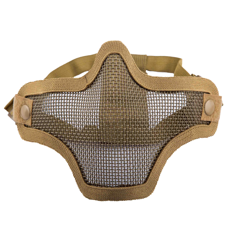 Invader Gear Gitterschutzmaske Steel Half Face Mask tan