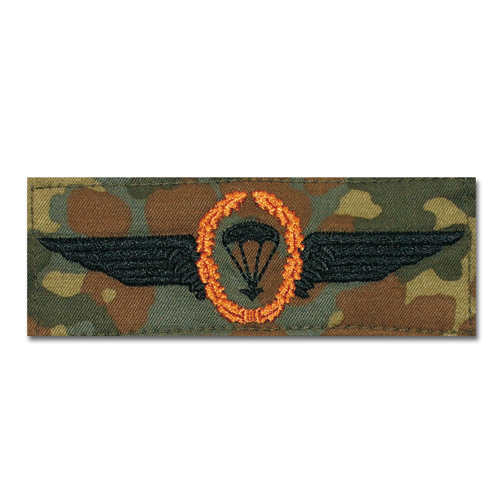 Abz. BW Fallschirmspringer bronce/fleckt