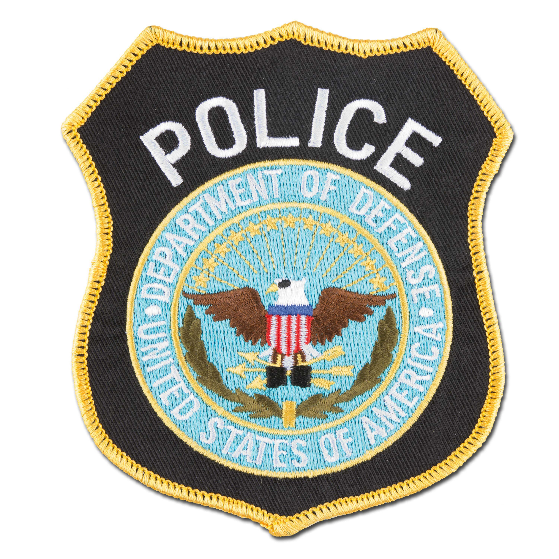 Abzeichen US Textil Police Dept. of Defense