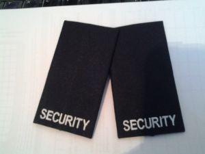 Rangschlaufen Security schwarz