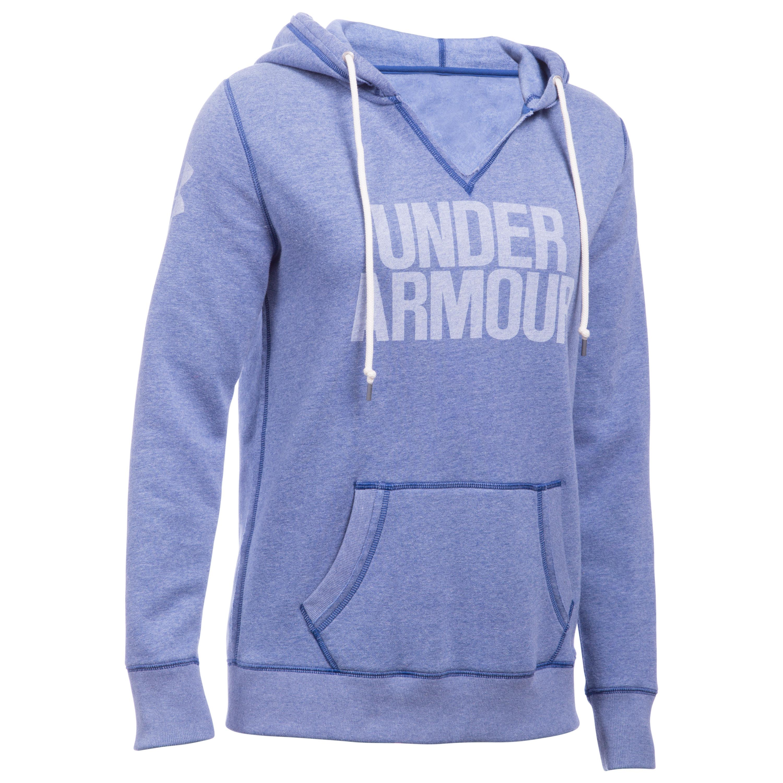 Under Armour Women Pullover Favorite Fleece blau