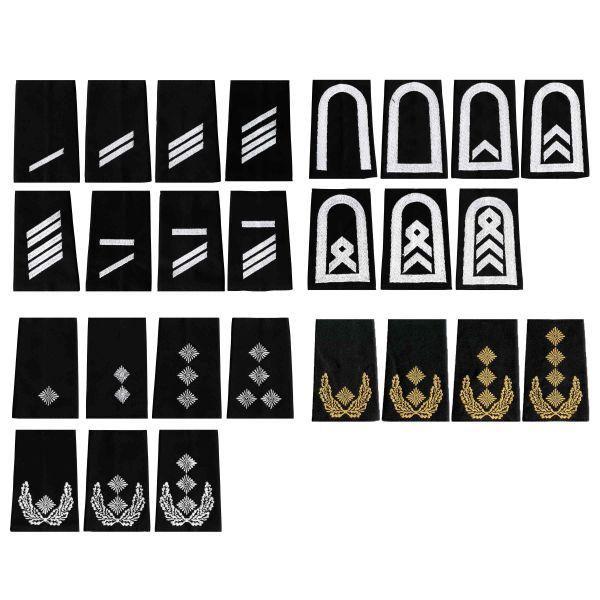 BW Rangabzeichen schwarz/weiß