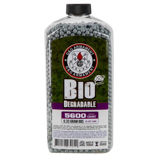 G&G Bio Airsoft BBs 6 mm 0.33 g 5600 Stück weiß