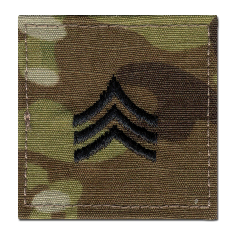 Rangabzeichen US Multicam Sergeant