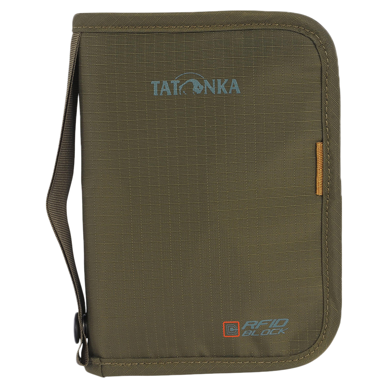 Tatonka Reisedokumententasche mittel RFID B oliv