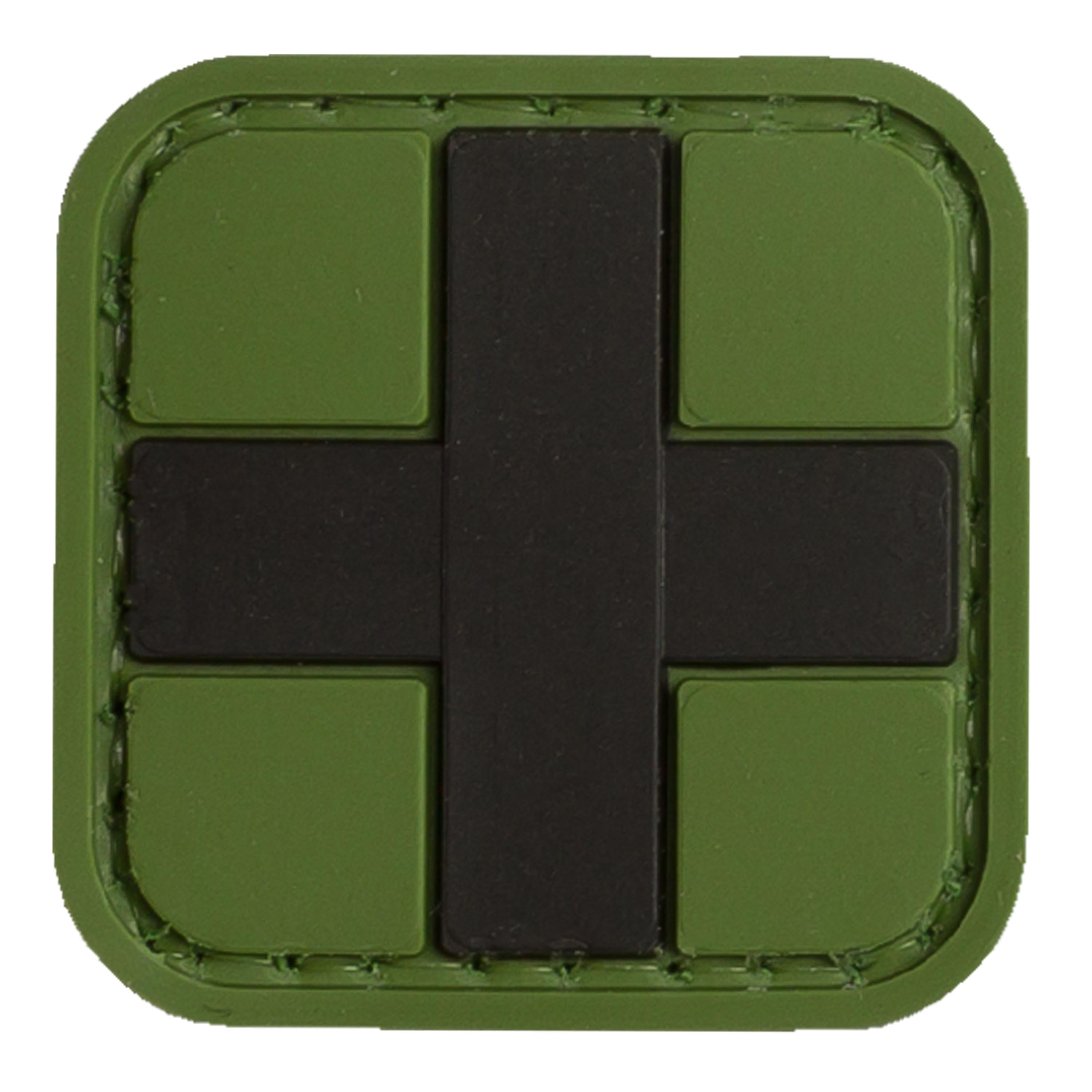 TAP 3D Patch Red Cross Medic forest 25 mm