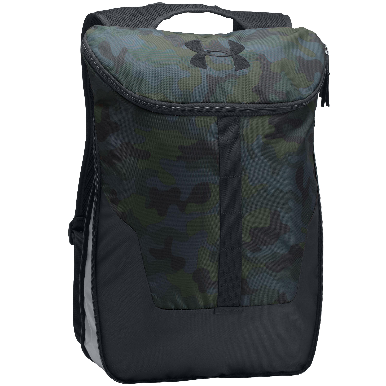 Under Armour Rucksack Expandable Sackpack blau camo