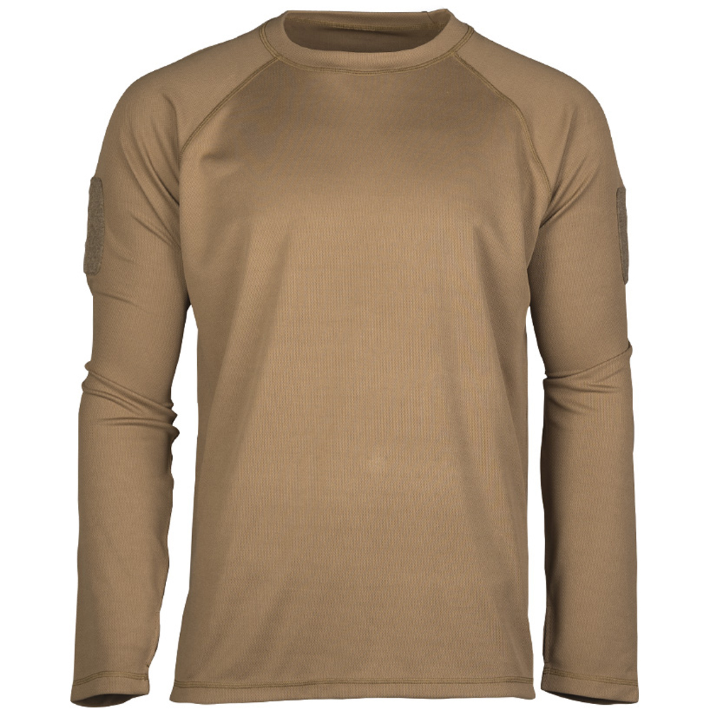 Mil-Tec Tactical Quick Dry Langarmshirt dark coyote