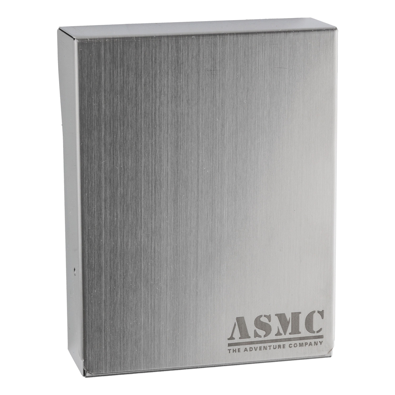 Zigarettenbox Metall mit ASMC Gravur