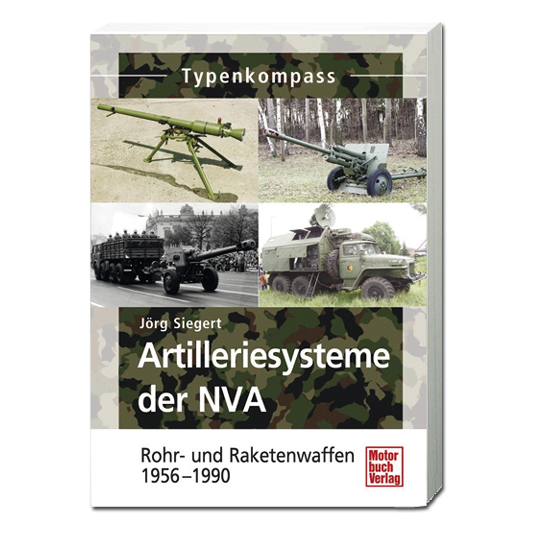 Buch Artilleriesysteme der NVA - 1949-1990