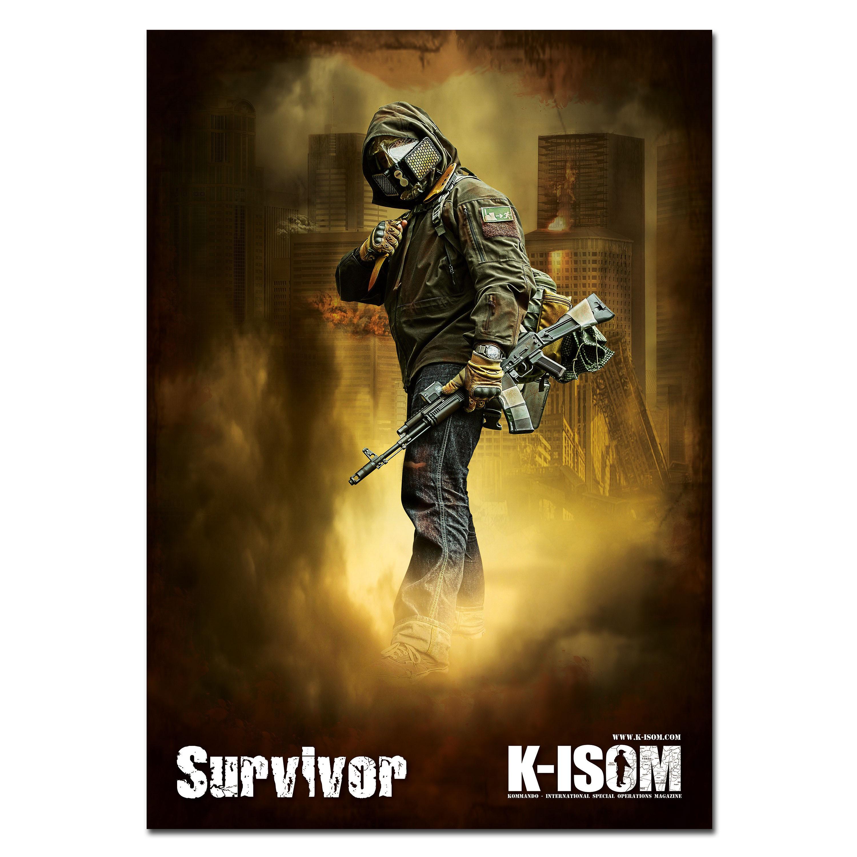 Poster K-Isom Survivor