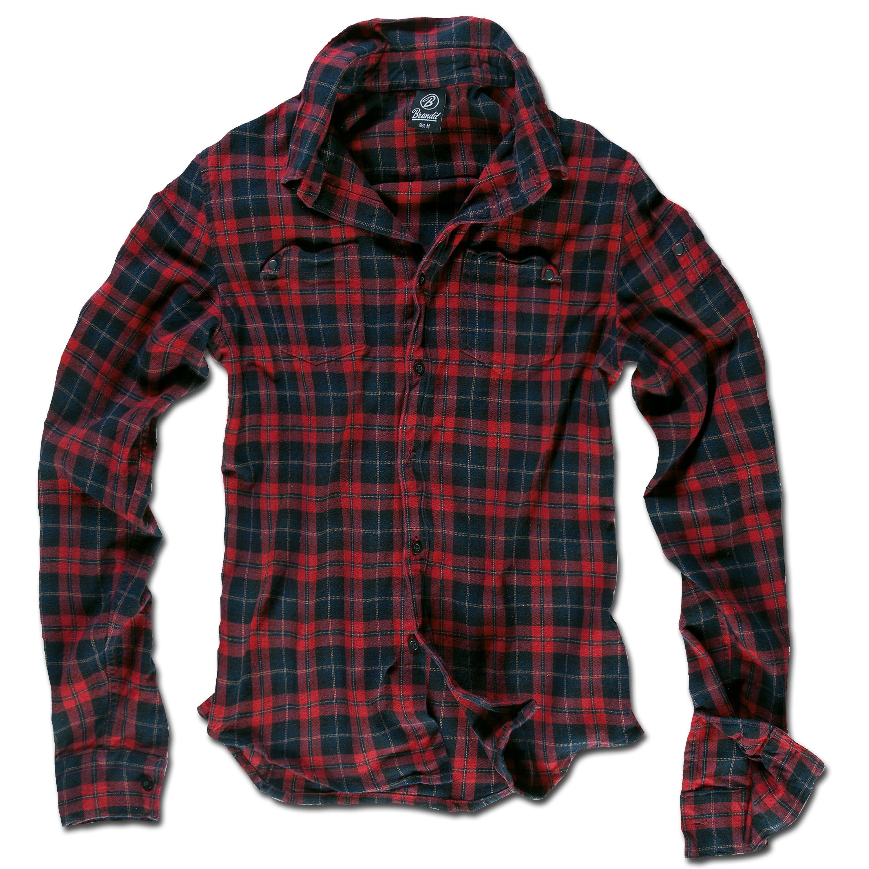 Brandit Wire Shirt rot/blau