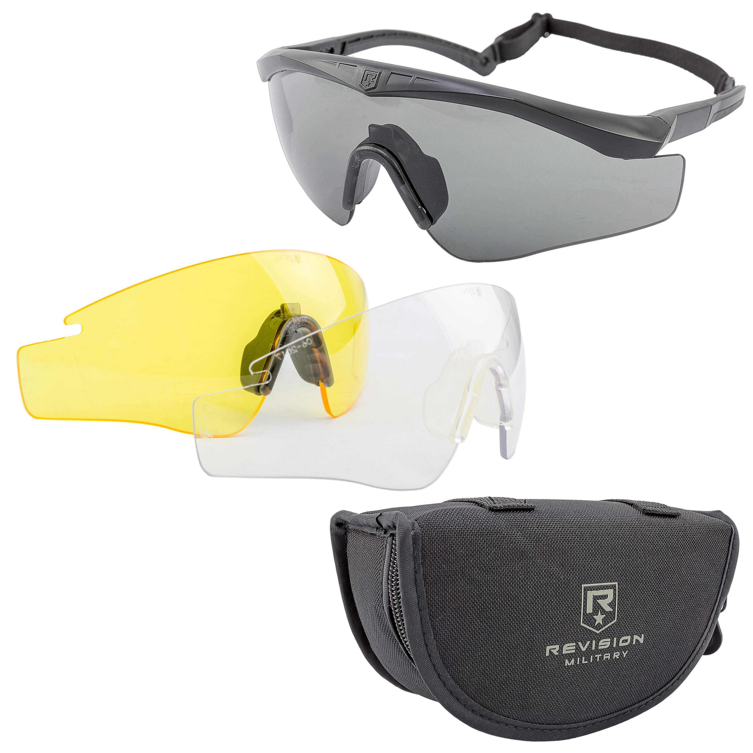 Revision Brille Sawfly Max-Wrap Mission Kit schwarz small