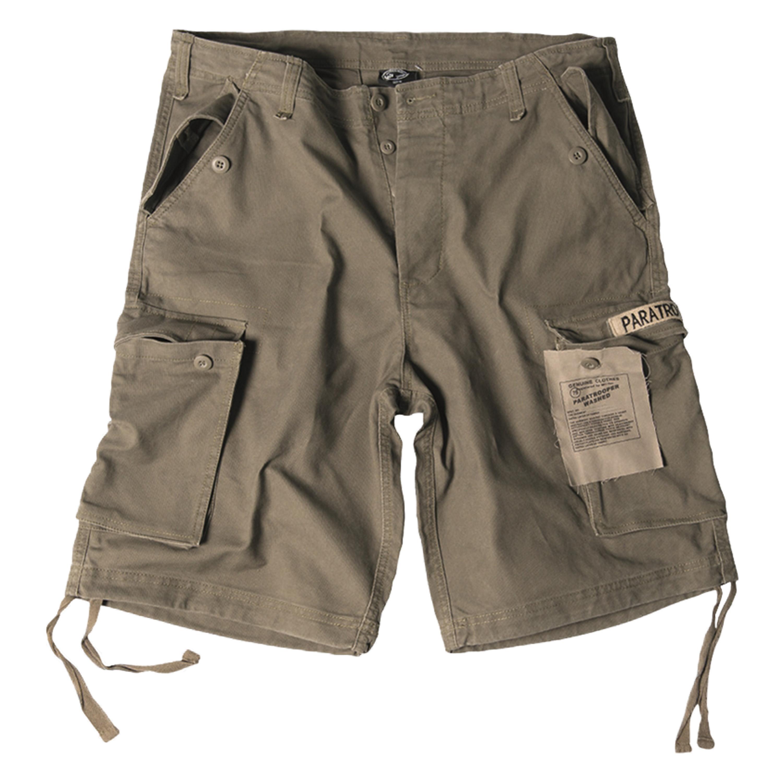 Paratrooper Shorts Mil-Tec washed oliv