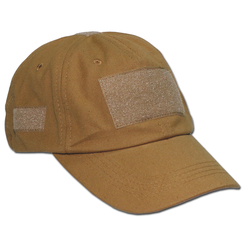 Einsatz-Cap mit Klett Universalgröße coyote