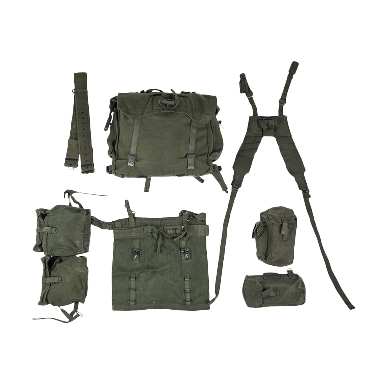 Britischer Tragesatz M58 7-tlg. gebraucht
