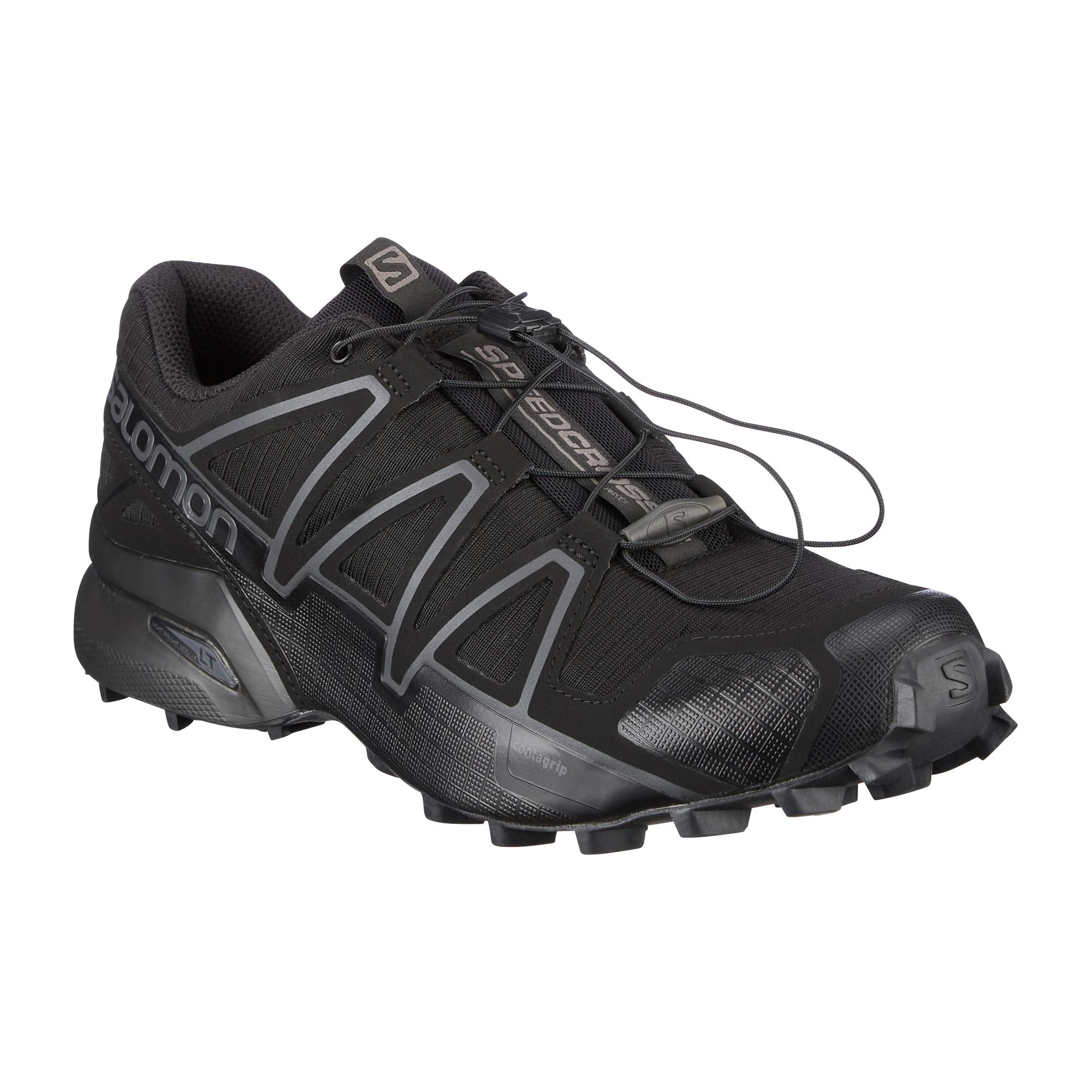 Salomon Schuhe Speedcross 4 Wide Forces schwarz