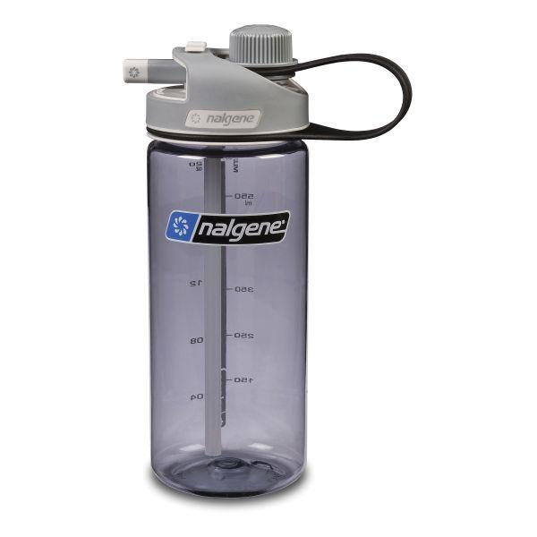 Nalgene Trinkflasche Multi-Drink 0.6 L grau