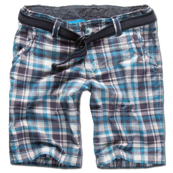 Shorts Brandit Advisor turquoise checkered