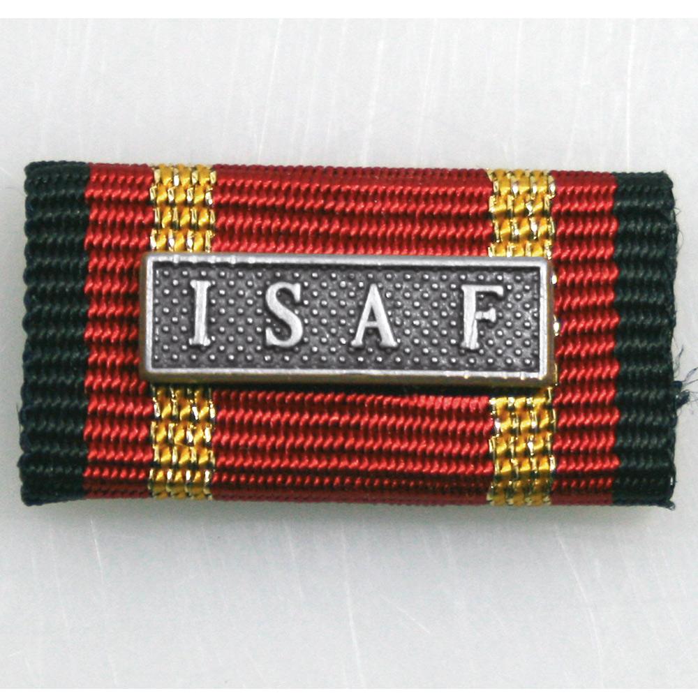 Ordensspange Auslandseinsatz ISAF bronze