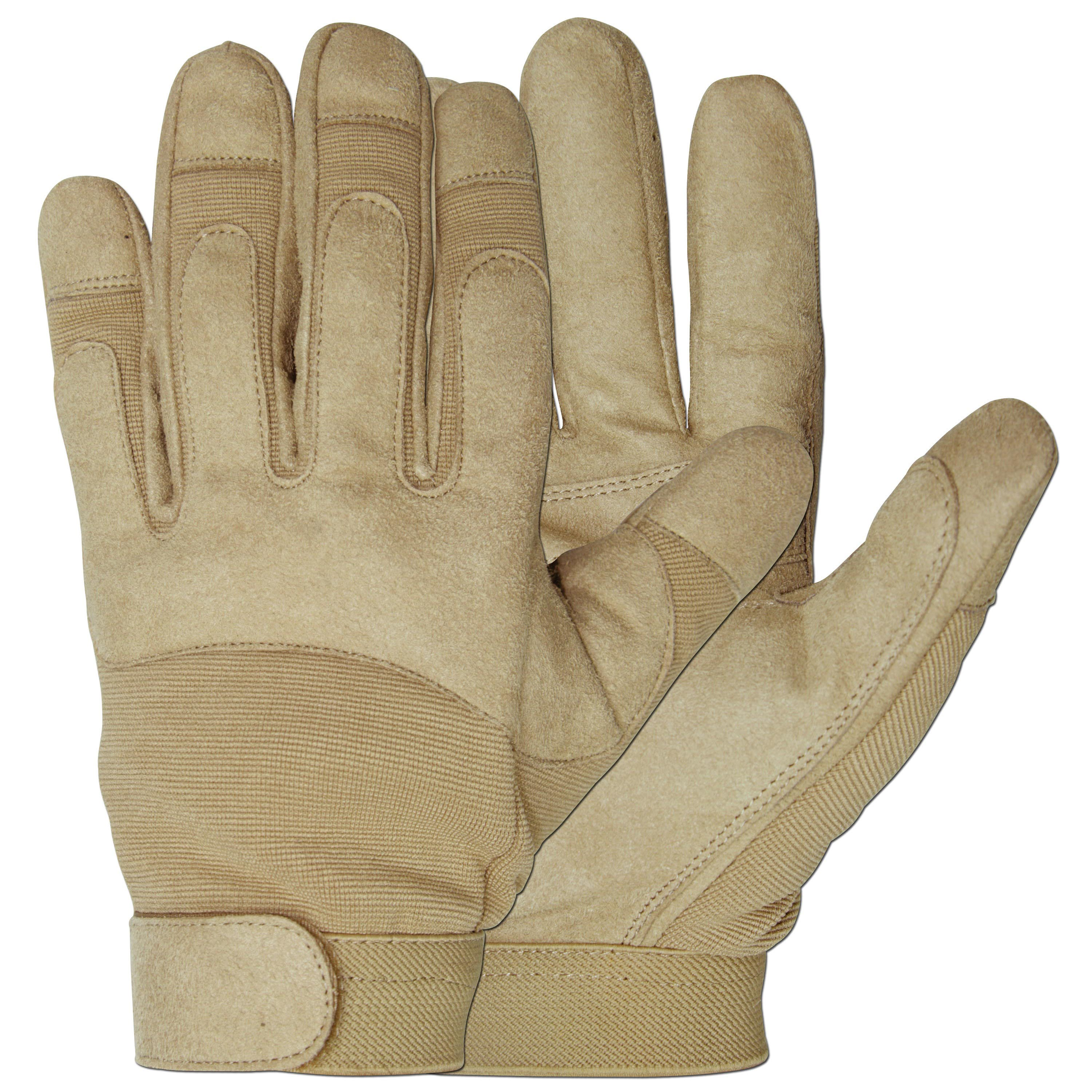 Handschuhe Army Gloves coyote