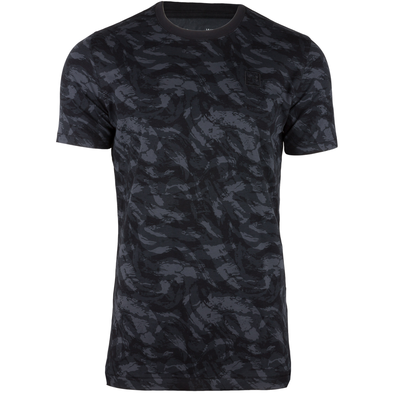 Under Armour Shirt AOP Sportstyle schwarz