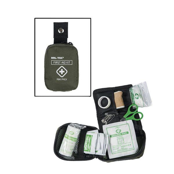 Erste Hilfe Kit Mini oliv