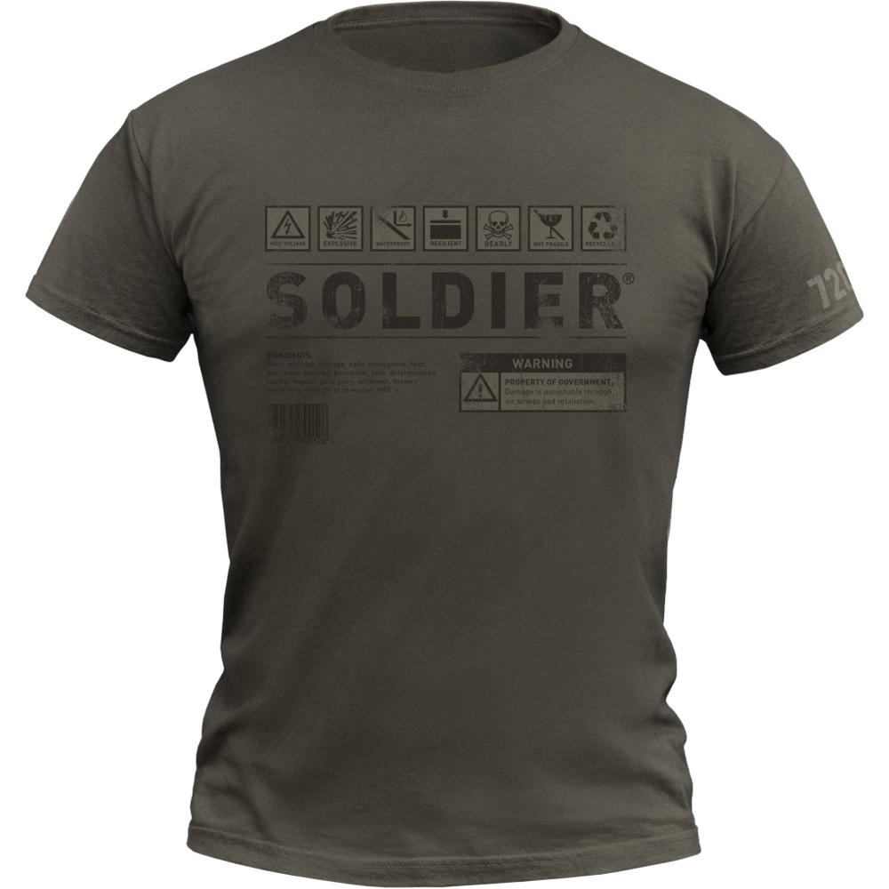 720gear T-Shirt Soldier army oliv