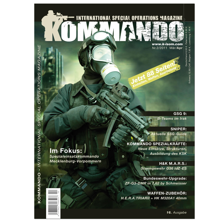 Kommando Magazin K-ISOM Ausgabe: 16
